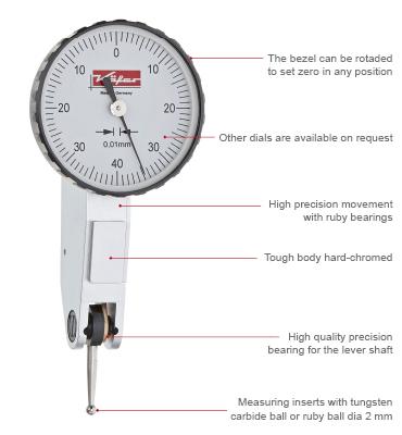 Dial Test Indicators K 228 Fer Dial Gauges And Digital Dial