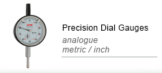 Precision dial gauges mechanical