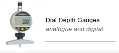 Dial depth gauges